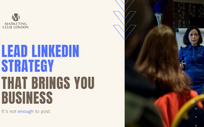 LEAD LinkedIn Strategy [video + article]